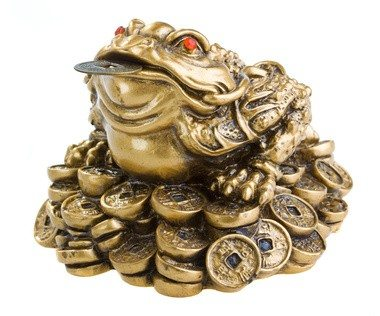 Chinese Money Frog