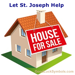 St Joseph Statue to sell house