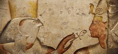 Horus and pharaoh