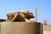 sacred scarab Karnak