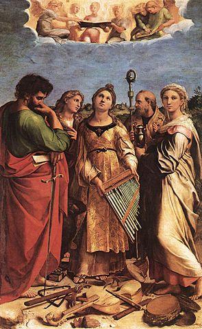 Cecilia by Raphael