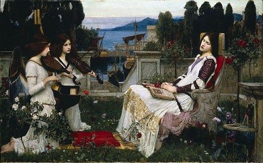 Waterhouse John William Saint Cecilia -1895