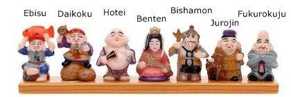 Japanese Lucky Gods