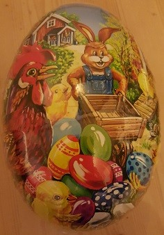 Easter Bunny Eggs History