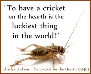 Cricket lucky Dickens