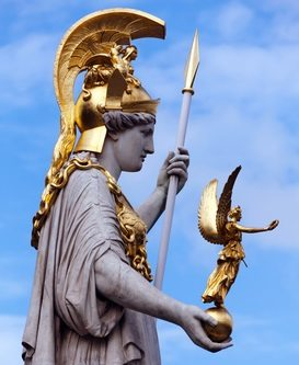 goddess Athena goddess Nike