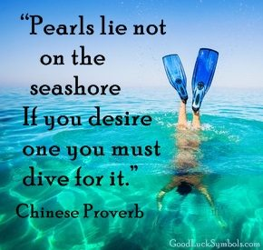 Pearls Chinese Proverb