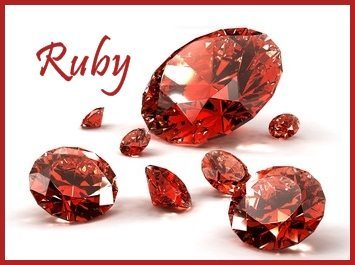 Ruby Gemstone July Birthstone