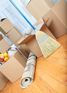 new broom when moving