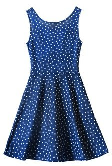 polka dot dress good luck