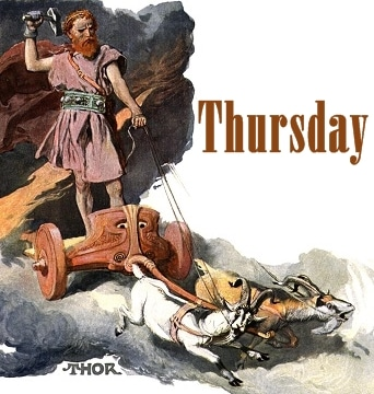 Thursday meaning