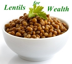 New year luck Lentils