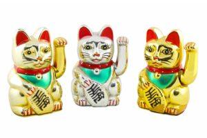 Maneki Neko lucky cat Japan