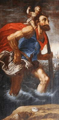 Saint Christopher Legend