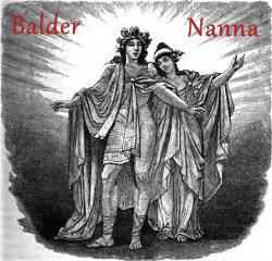 Balder and Nanna