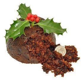 Christmas Pudding Coin