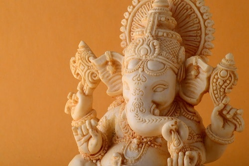 Ganesh Lucky elephant statue