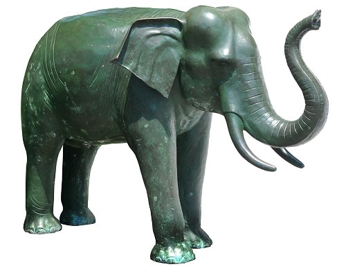 elephant statue lucky