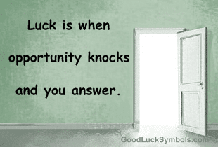 Luck Quotes Quotes And Proverbs About Luck