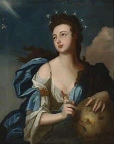 Urania Muse of Astronomy by Louis Tocqué