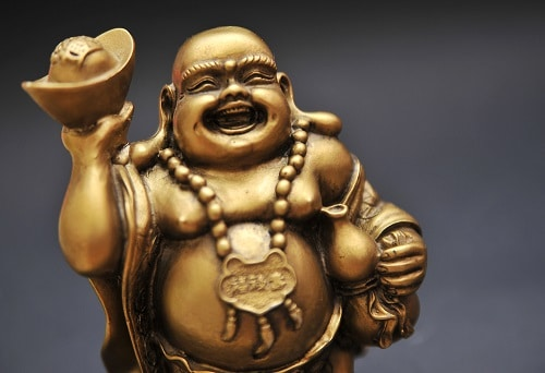 Laughing Buddha brings wealth