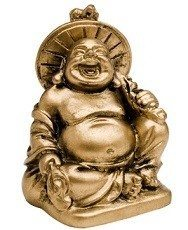 Laughing Buddha with hat