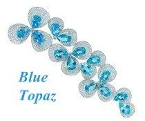 blue topaz stone topaz color