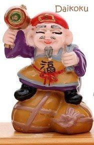 Daikoku Japanese lucky god