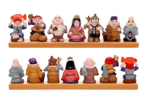 Seven Lucky gods Japanese