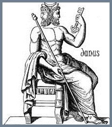 Janus Roman God of Gates