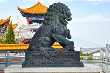 chinese lion statue meaning foo dogs fu dogs guardian lions 10555