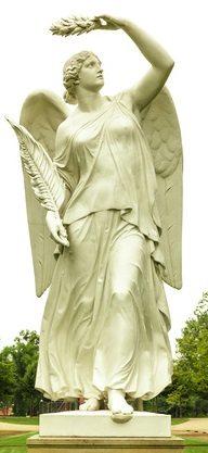 goddess Nike statue