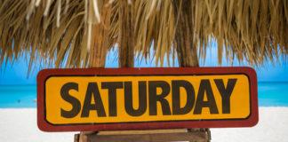 Saturday superstitions