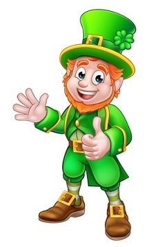 Leprechaun the irish good luck symbol in folklore leprechaun luck symbol altavistaventures Gallery