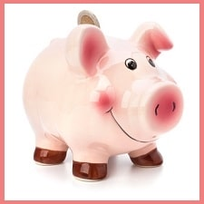 piggybank money symbol