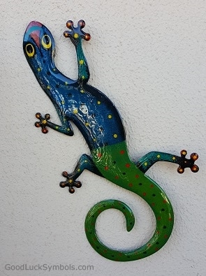 Lizards good luck symbol