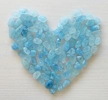 Aquamarine gemstone year 19