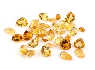 Citrine gemstones year 13