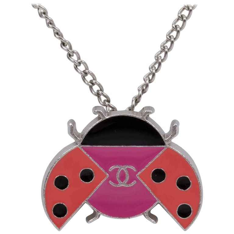 8 Lucky charms Necklaces That Bring Good Luck ladybug