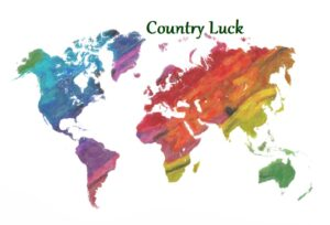 Country luck map