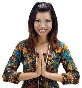 Luck greeting Thai wai