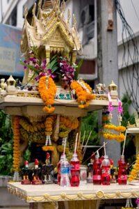 Thai Spirit house Superstitions
