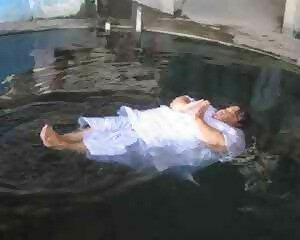 Floating Nun of Wat Tham Mankh