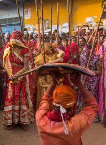 lathmar festival India