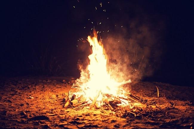 bonfire in Irish Folklore
