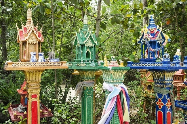 spirit houses Thailand