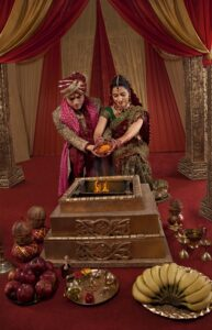 wedding customs in India Holy fire