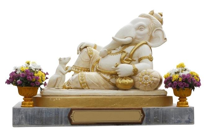 Ganesh Hindu God (elephant - headed god)