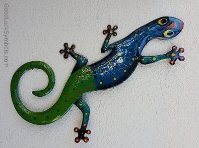 lizards symbol good luck lucky