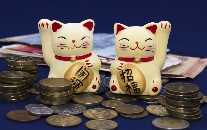 Maneki Neko Lucky money cat